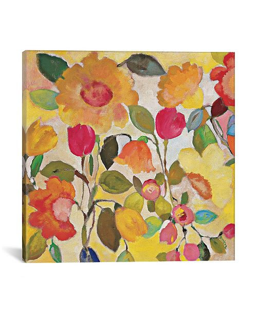"iCanvas ""Pacific Garden"" By Kim Parker Gallery-Wrapped Canvas Print - 12"" x 12"" x 0.75"""