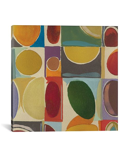 """iCanvas """"Sonia"""" By Kim Parker Gallery-Wrapped Canvas Print - 18"""" x 18"""" x 0.75"""""""