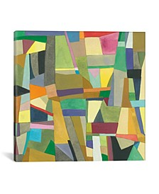 """""""Edinburgh"""" By Kim Parker Gallery-Wrapped Canvas Print - 37"""" x 37"""" x 0.75"""""""