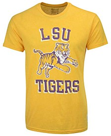 Men's LSU Tigers Leaping Tiger Mock Twist T-Shirt