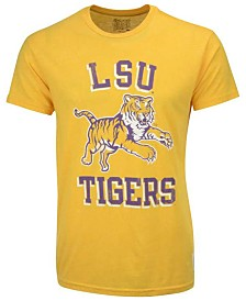 Retro Brand Men's LSU Tigers Leaping Tiger Mock Twist T-Shirt