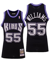 bb7bb2182 Mitchell   Ness Men s Jason Williams Sacramento Kings Authentic Jersey