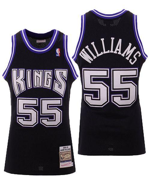 best website 8c296 d44e8 Men's Jason Williams Sacramento Kings Authentic Jersey