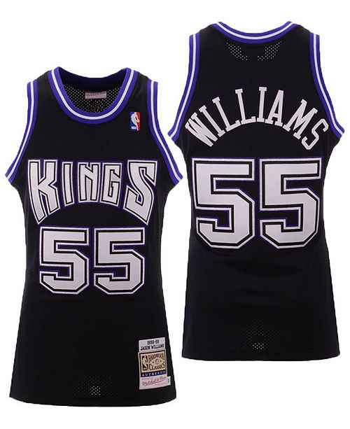 Mitchell & Ness Men's Jason Williams Sacramento Kings Authentic Jersey