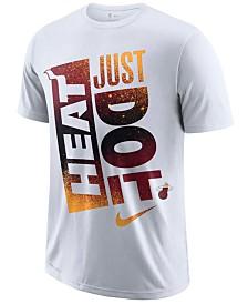 Nike Men's Miami Heat Just Do It Mezzo T-Shirt