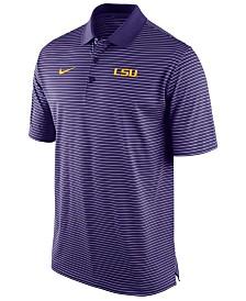 Nike Men's LSU Tigers Stadium Stripe Polo