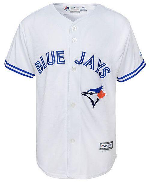 best loved 2bab1 e315e Big Boys Toronto Blue Jays Blank Replica Jersey