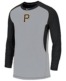 Nike Men's Pittsburgh Pirates Authentic Collection Game Top Pullover