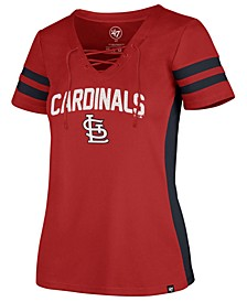 Women's St. Louis Cardinals Turnover V-Neck T-Shirt