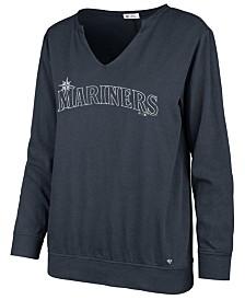 '47 Brand Women's Seattle Mariners Gamma Long Sleeve T-Shirt