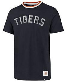 '47 Brand Men's Detroit Tigers Durham Ringer T-Shirt