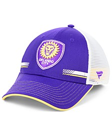 Authentic MLS Headwear Orlando City SC Iconic Trucker Snapback Cap
