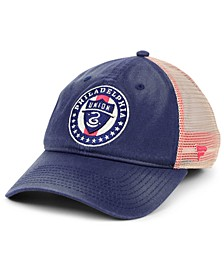 Authentic MLS Headwear Philadelphia Union Americana Trucker Snapback Cap