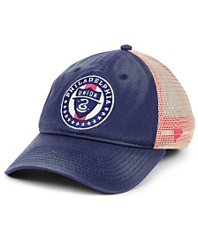 Authentic MLS Headwear Philadelphia Union Americana Trucker Snapback Cap