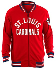 New Era Men's St. Louis Cardinals Lineup Track Jacket