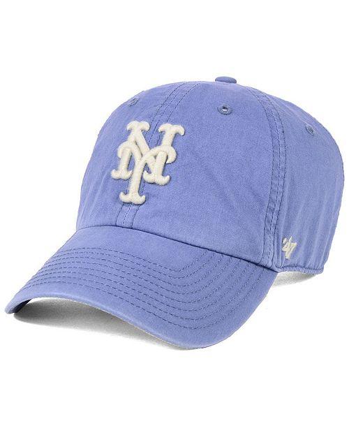 bb85ed8457d 47 Brand New York Mets Hudson CLEAN UP Cap   Reviews - Sports Fan ...