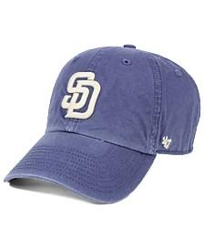 '47 Brand San Diego Padres Hudson CLEAN UP Cap