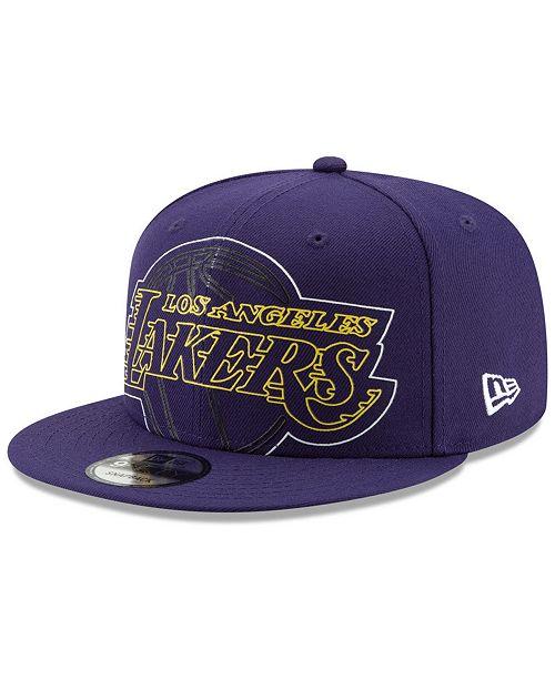 size 40 12c84 b13a7 ... New Era Los Angeles Lakers Light It Up 9FIFTY Snapback Cap ...