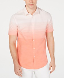 I.N.C. Men's Ombré Shirt, Created for Macy's