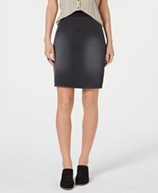 Style & Co Pull-On Denim Skirt, Created for Macy's