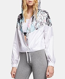 Sportswear Womens Hyper Femme Printed Windrunner Cropped Jacket