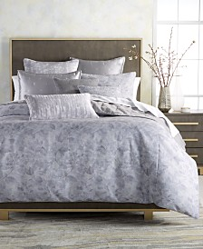 Hotel Collection Autumn Leaf Reversible King Duvet Cover, Created for Macy's
