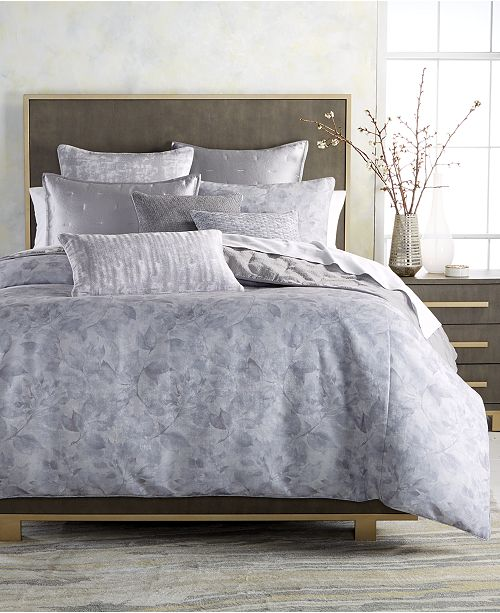 Hotel Collection Autumn Leaf Reversible Full/Queen Comforter, Created for Macy's