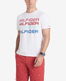 Tommy Hilfiger Men's Wonderland Logo Graphic T-Shirt