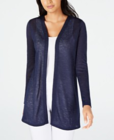 Michael Michael Kors Straight Edge Cardigan, Regular & Petite Sizes