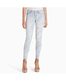 Jessica Simpson Juniors' Kiss Me Super-Skinny Jeans