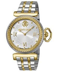 By Franck Muller Women's Swiss Quartz Two-Tone Gold Stainless Steel Bracelet Watch, 38mm