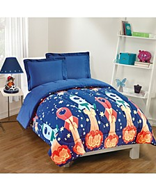 Blast Off 2-Piece Comforter Set, Twin
