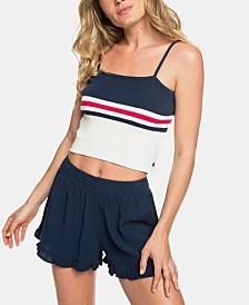 Roxy Juniors' Coachella Vibes Cotton Crop Top