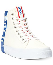Polo Ralph Lauren Men's Solomon II High-Top Sneakers