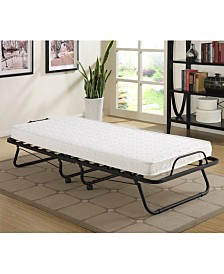Primo International Uplifted Folding Cot Bed- Twin