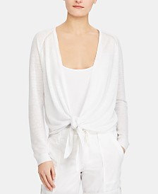 Lauren Ralph Lauren Open-Front Sweater