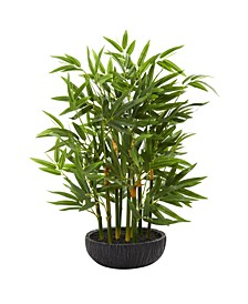 """20"""" Bamboo Artificial Plant"""