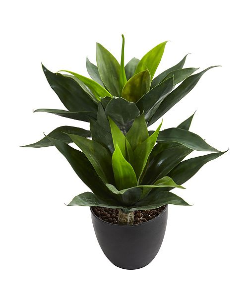 """Nearly Natural 21"""" Agave Artificial Plant"""
