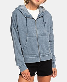 Roxy Juniors' Graphic-Print Fleece Hoodie