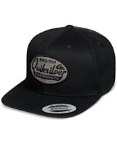 promo code e7672 b350a Quiksilver Men s Stuck It Logo Snapback Hat