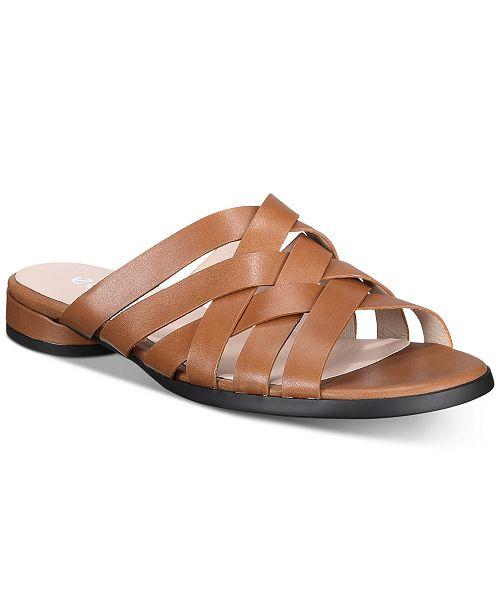 Ecco Women's Flat Strappy Sandals