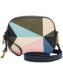 Fossil Elle Patchwork Crossbody