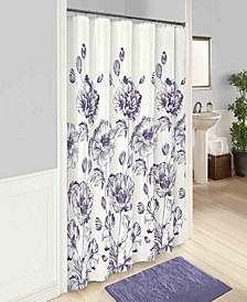 "Jasmeen 72"" x 72"" Shower Curtain"