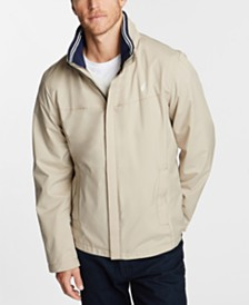 Nautica Men's Waterproof Packable Hooded Jacket