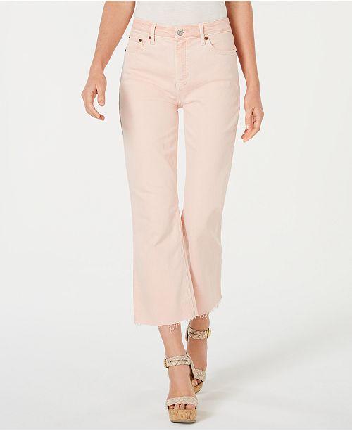 Lucky Brand Bridgette Capri Flare Jeans