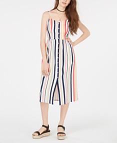 edb48901d45c Emerald Sundae Juniors' Sleeveless Striped Midi Dress