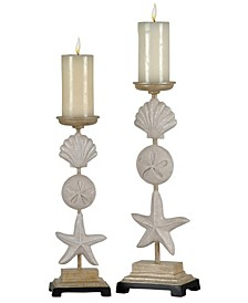 Seaside Candle Holders - Set of 2