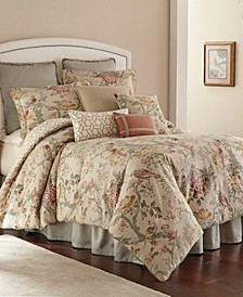 Biccari 4 pc queen comforter set