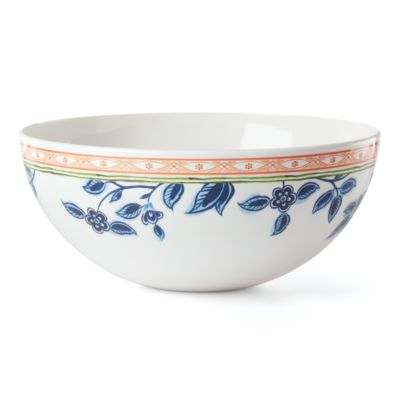 Northern Blossom Melamine Salad Bowl