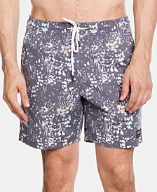 Men's Floral Volley Shorts